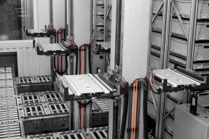Dobozos automata raktár, automata kisáruraktár